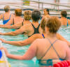 camping cours aquagym piscine trevou